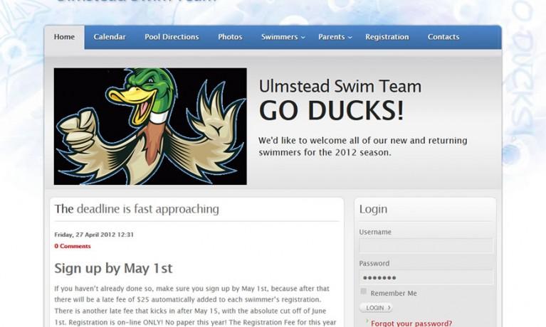 Ulmstead Swim Team