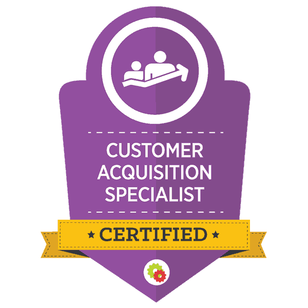 Customer Acquisition Certified